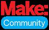 Make: Community brand logo